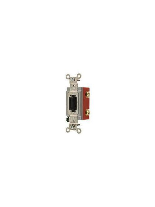 Pass & Seymour 1594-2SWTICC5 15 Amp 125 VAC Ivory Combination Switch/GFCI Receptacle