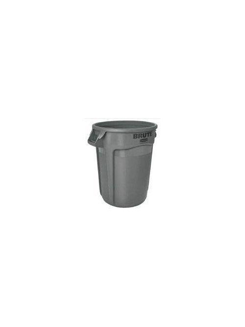 Rubbermaid FG263200GRAY 32 Gallon 21.92 x 27.77 Inch Gray Round Container