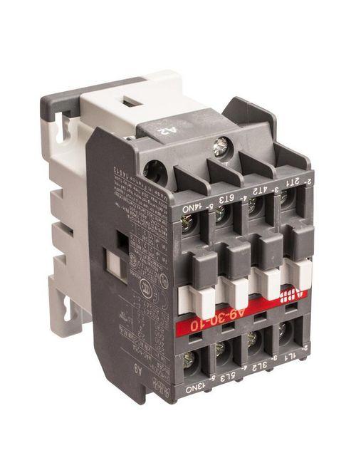 Thomas & Betts A9-30-10-84 110 to 120 VAC 9 Amp 1NO 3-Pole Non-Reversing Contactor
