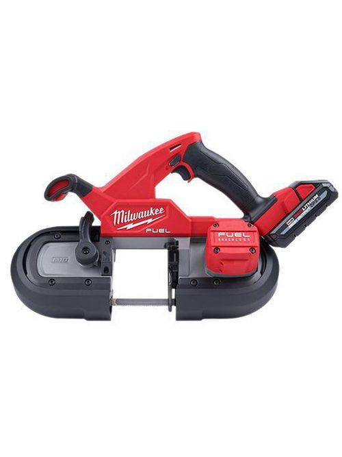 Milwaukee 2829S-22 M18#8482; FUEL™ Compact Dual-Trigger Band Saw Kit