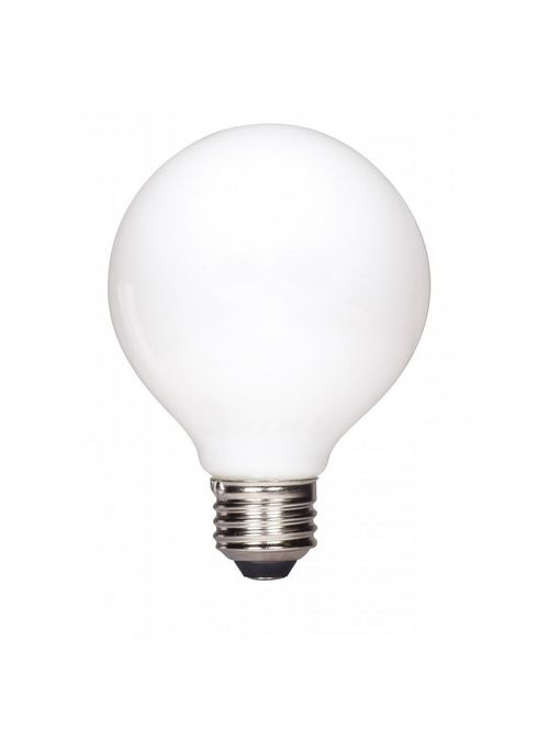 SAT S12108 6.5W G25 LED; SOFTWHITE; MEDIUM BASE; 2700K; 650LUMENS; 120V