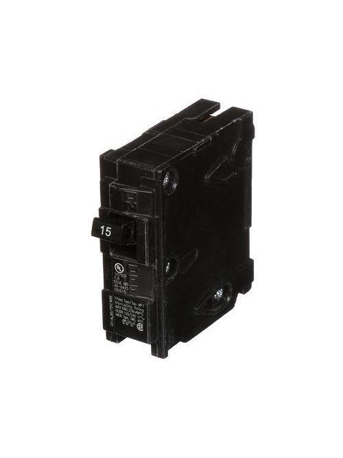 Siemens MP115 1-Pole 120 VAC 15 Amp 10 kA Plug-In Circuit Breaker