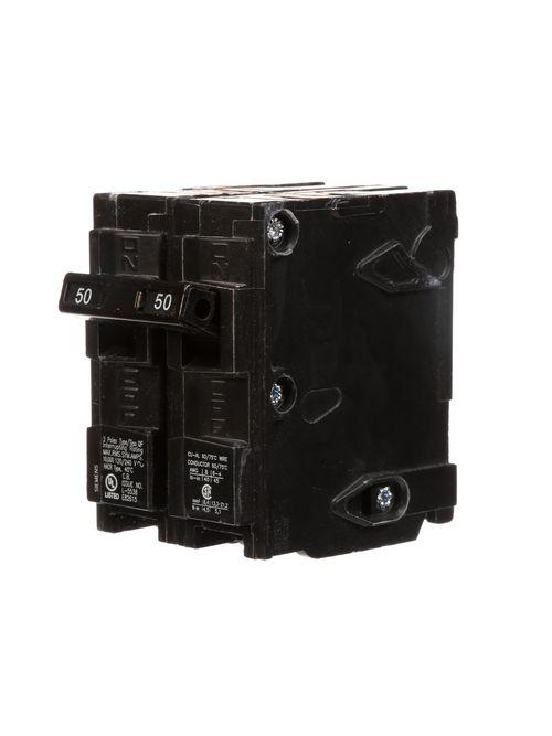 Siemens Industry Q250 2-Pole 50 Amp 120/240 VAC 10 kA Plug-In Circuit Breaker