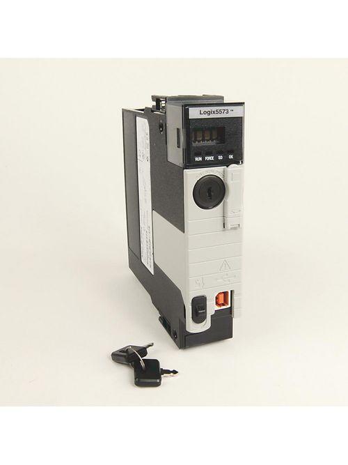 Allen Bradley 1756-L73K 800 mA 2.5 W 8 MB 1-Port USB Controllogix PLC Controller