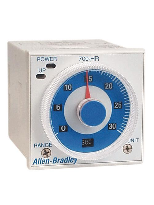 Allen-Bradley 700-HRV52TU24 Tube Base Dial Timing Relay