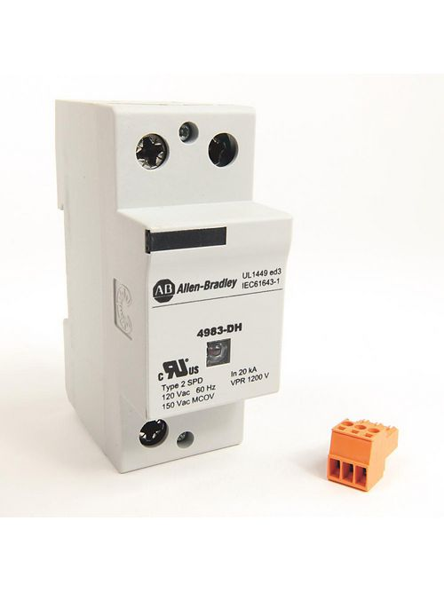 Allen-Bradley 4983-DH120-25 DIN Rail Mount Surge and Filter Protection