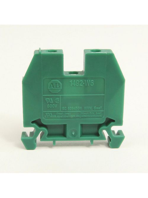 Allen-Bradley 1492-W6 6 mm Feed-Through Terminal Block