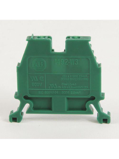 Allen-Bradley 1492-W3-RE 2.5 mm Standard Terminal Block