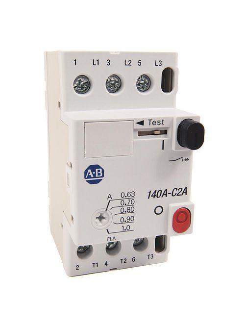 Allen-Bradley 140A-C2A-B16 1.0 - 1.6 Amp IEC Manual Motor Starter