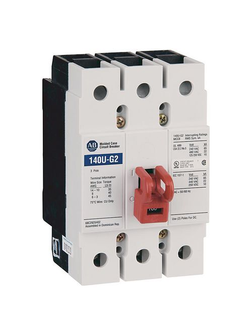 Allen Bradley 140U-G2C3-C60 G-Frame Molded Case Circuit Breaker