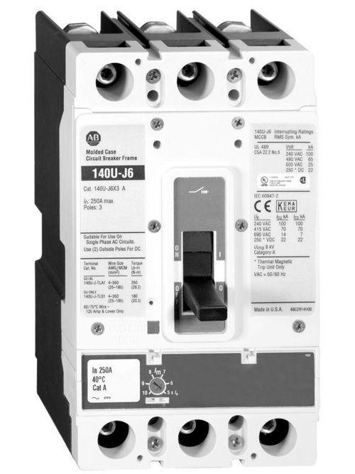 Allen Bradley 140UE-JTF4-D20 IEC 200 Amp Trip Unit