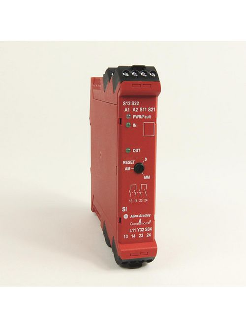 Allen-Bradley 440R-S12R2 Single Input Guardmaster Safety Relay
