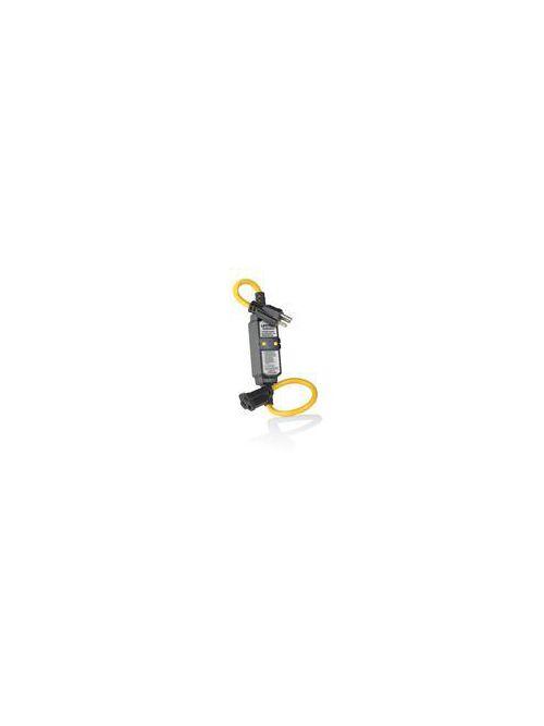 Leviton GFA15-2C 120 Volt 15 Amp 2-Pole 3-Wire NEMA 5-15P 3/4 Hp Black Polycarbonate Straight Blade GFCI Cord Set