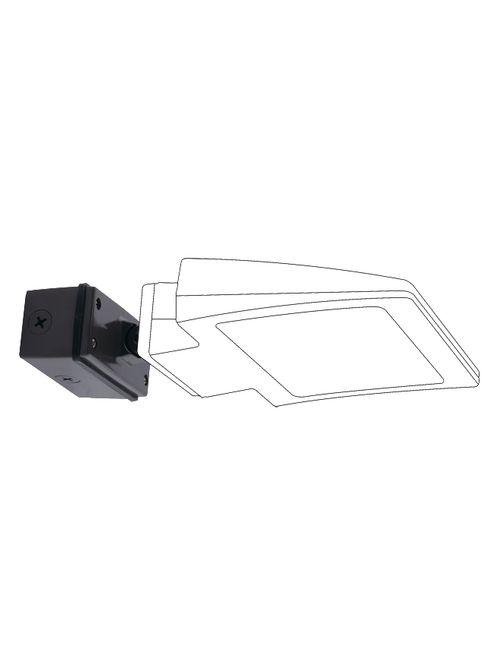 RAB SWIVEL30 30 Degrees 5 x 2-1/4 x 2-1/2 Inch Bronze LED Wall Pack Swivel Mount