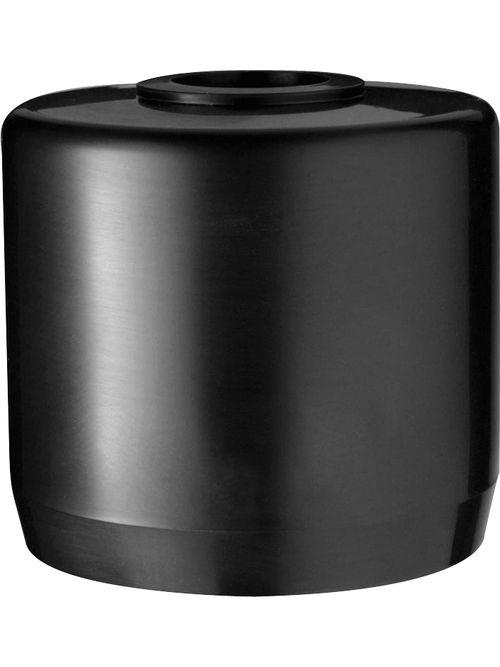 RAB MCAP2B 2-3/8 x 2-5/8 Inch Black PVC Pipe Cap