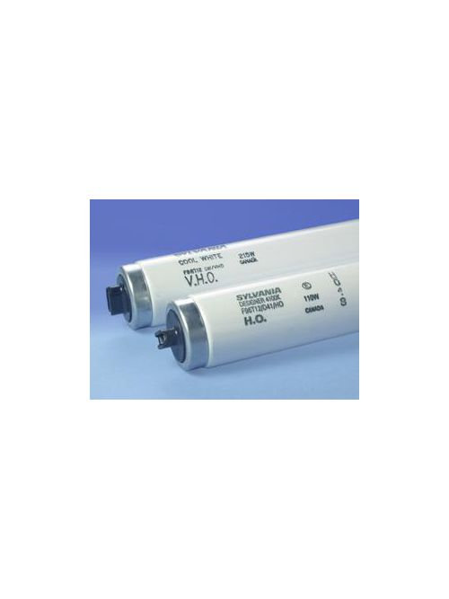 Sylvania 25384 100 W 60 CRI 4200 K 7550 lm Recessed Double Contact T12 High Output Rapid Start Fluorescent Lamp