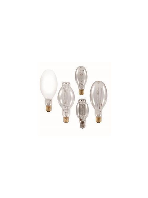 Sylvania Metalarc 64351 1000 W 65 CRI 3800 K 110000 lm Clear E39 Mogul Base BT37 Pulse Start Metal Halide Lamp