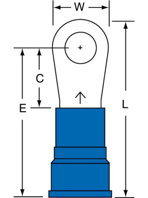 3M MN6-14R/SX 10/Bottle Nylon Insulated Ring