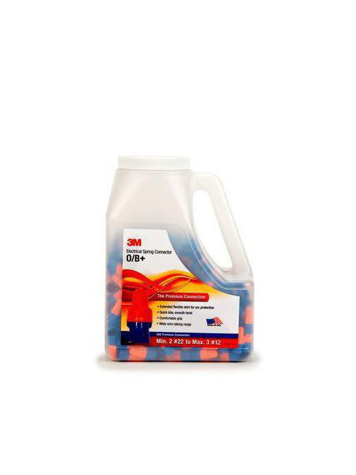 3M O/B+JUG 500/Jug Orange/Blue Spring Connector