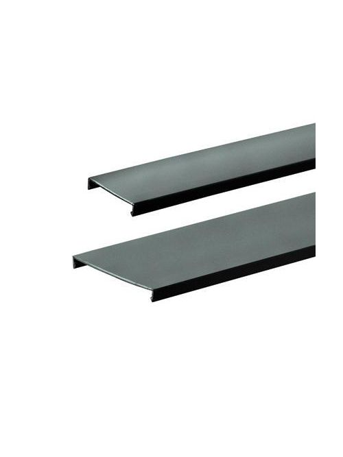 Panduit C3BL6 3 Inch x 6 Foot Black PVC Duct Cover