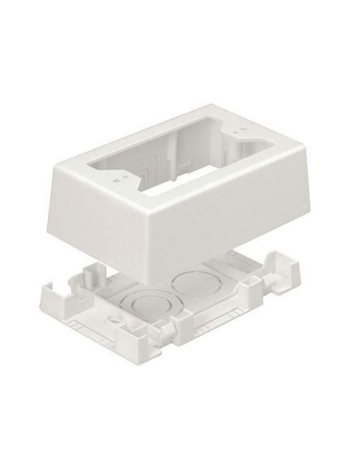Panduit JBX3510IW-A 1-Gang Low Voltage Outlet Box