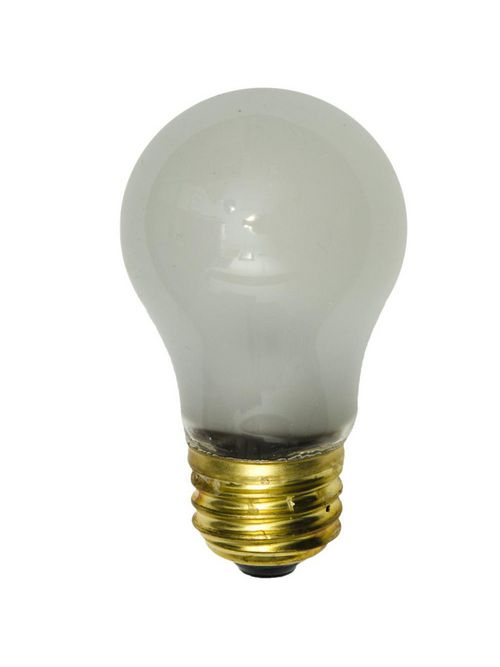 Shat-R-Shield 01116S 3.5 Inch 40 W 130 Volt 100 CRI 2850 K 405 Lumen Medium Base A15 PFA Coated Incandescent Lamp