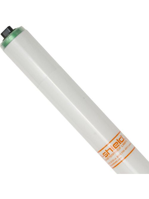 Shat-R-Shield 68547 96 Inch 86 W 85 CRI 4100 K 8200 Lumen Recessed Double Contact T12 Copolymer Coated Linear Fluorescent Lamp