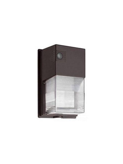 Lithonia Lighting TWS LED 1 50K 120 PE M4 19 W 120 Volt 1070 Lumen Dark Bronze Photoelectric Cell LED Wall Luminaire