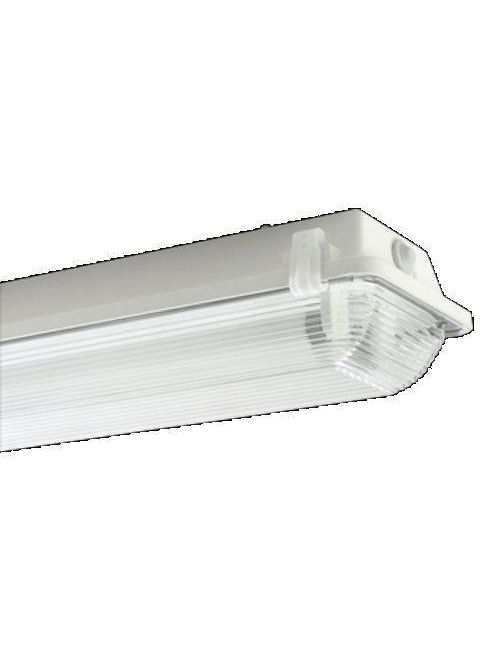 EPCO G4L2-T8-CLM 4 Foot 2-Lamp GFF Light Fixture with Acetal Latches