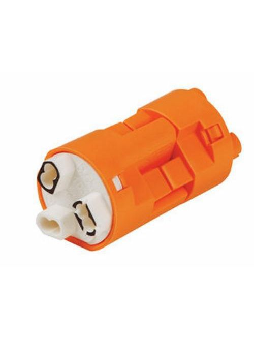Ideal Industries 30-383X Powerplug CSA/UL Listed 600 Volt 3-Wire Stranded Orange Luminaire Disconnect