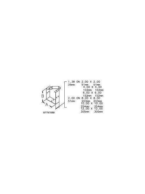 Hoffman F1212GUCGV U Connector