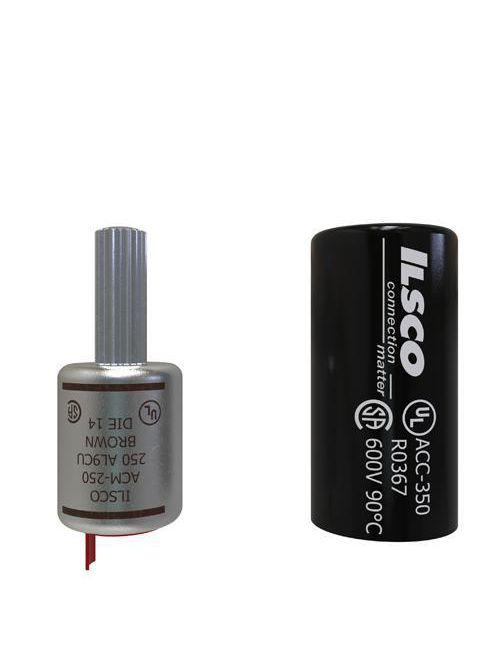 ILSCO ACM-250 UL/CSA Listed 250 MCM Aluminum Compression Pin Terminal