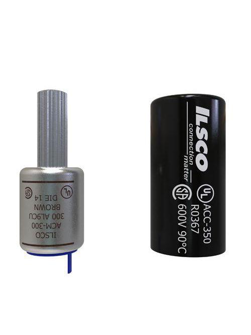 ILSCO ACM-300 UL CSA Listed 300 MCM Aluminum Compression Pin Terminal