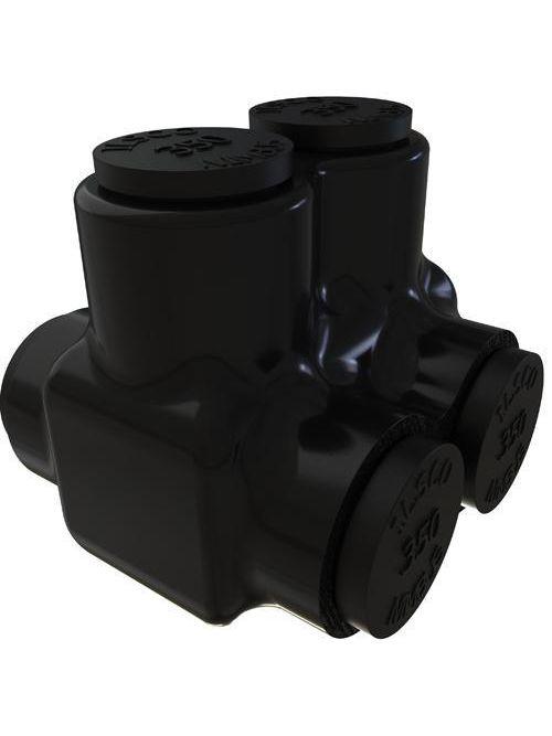 ILSCO PBTD-2-350 UL/CSA Listed 350 MCM 6 AWG 2-Port Dual Rated Aluminum Insulated Mechanical Connector