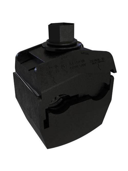 ILSCO IPC-250-4/0-B UL Listed 250 MCM 1 AWG Main Range 4/0 - 6 AWG Tap Range Insulation Piercing Connector