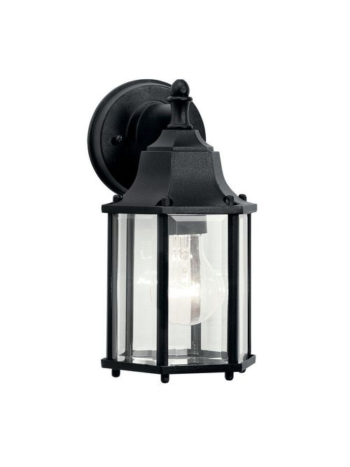 Kichler 9774BK 1-Light Outdoor Wall Fixture