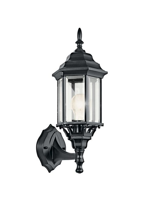 Kichler 49255BK 1-Light Outdoor Wall Lighting Fixture