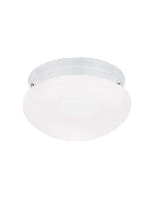 Sea Gull 5328-15 2-Lamp 8/13.5/60 W 120 Volt White Medium A19 Ceiling Light Fixture