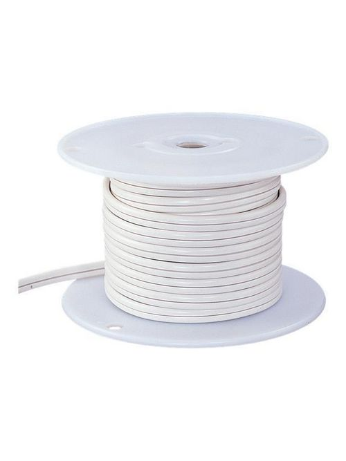 Sea Gull Lighting 9469-15 12/24 Volt 300/600 W 10/2 AWG 25 Foot White Indoor Lighting Track Cable