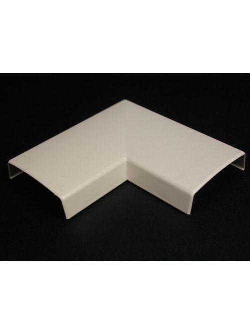 Wiremold 2311 Non-Metallic Flat Ivory 90 Degree Elbow