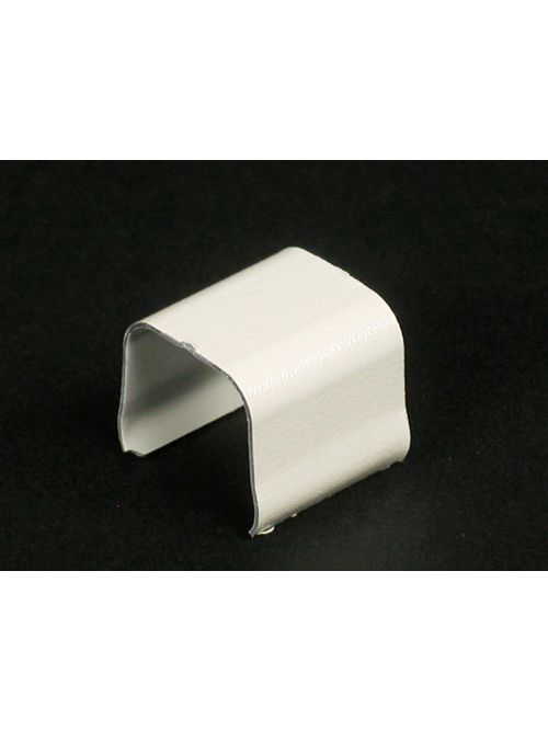 """Wiremold V706 3/4"""" Ivory Steel 1-Channel Raceway Connection Cover"""