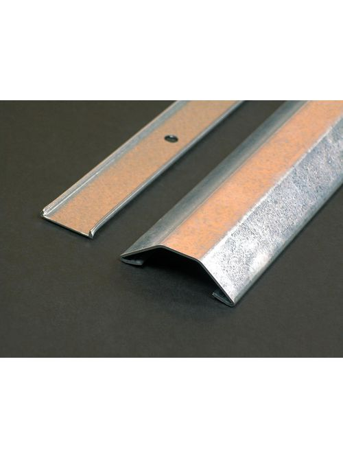 """Wiremold 2600-10 2-7/32"""" 10 Foot Galvanized Steel Raceway Base and Cover"""