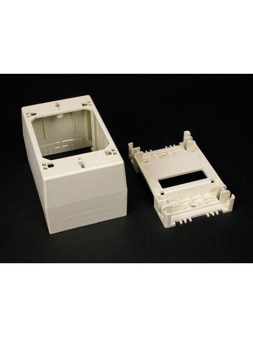 WIREMOLD 2348-WH SWITCH BOX 1GANGDEEP DEVICE BOX WHITE