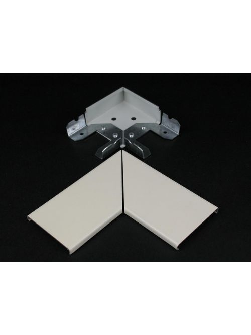 Wiremold 2411M-FW Fog White Flat Elbow