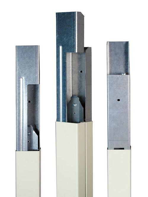 Wiremold 25DTC-E5 5 Foot Blank Steel Pole Extender