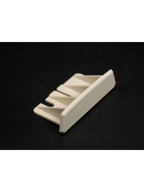 Wiremold 2310B 2-1/4 x 1 x 27/32 Inch Ivory Non-Metallic 1-Channel Raceway Blank End