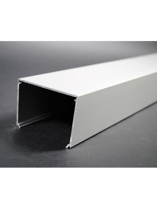 Wiremold ALA3800B-10 3 x 2-1/4 Inch Satin Anodized Aluminum 1-Channel Raceway 1-Compartment Base