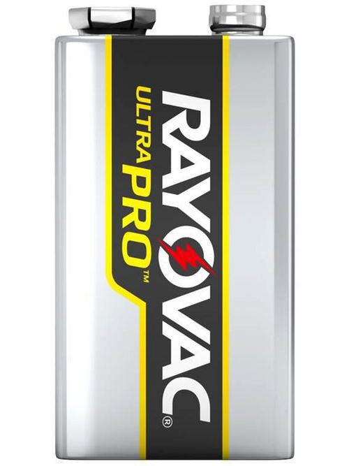 Rayovac AL9V-6J 9 Volt Size 6/Pack Shrink Pack UltraPro Alkaline Batteries