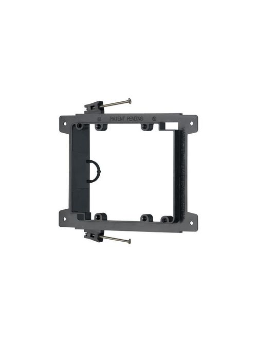 Arlington LVN2 2-Gang Low Voltage Mounting Bracket