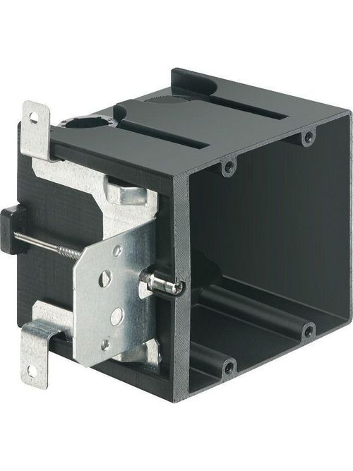 Arlington FA102 2-Gang Screw Mount Adjustable Box